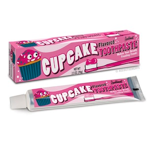 Cupcake Toothpaste