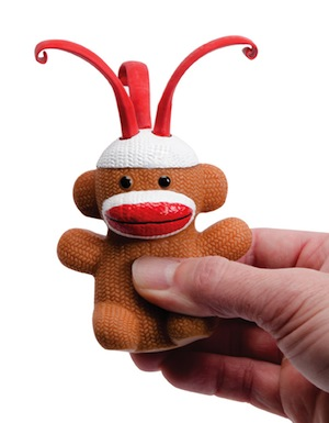 Curly Pop Sock Monkeys