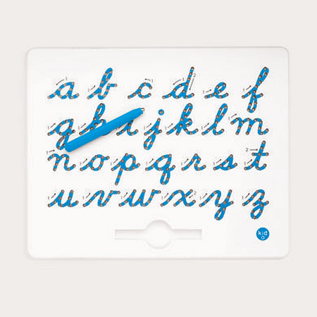 Cursive Magnatab - Lower Case Letters