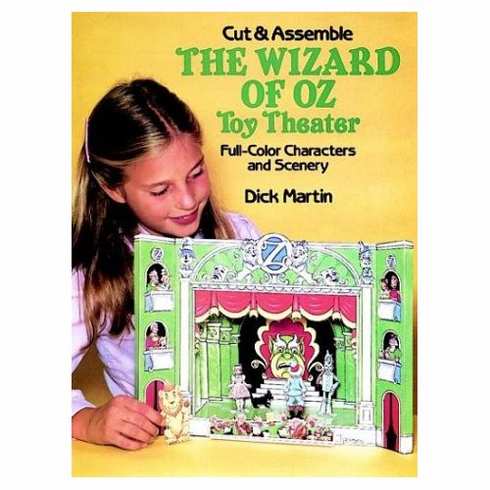 Cut & Assemble Wizard of Oz Toy Theater