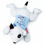 Cute Pirate Bull Terrier Dog Plush