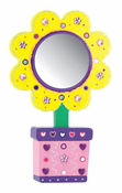 Decorate Your Own Flower Mirror