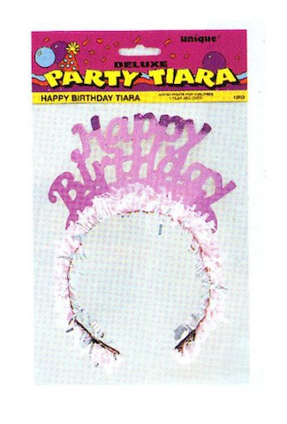 Deluxe Birthday Tiara