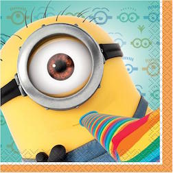 Despicable Me Beverage Napkin