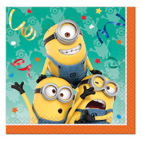 Despicable Me Lunch Napkin