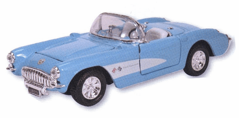 Die Cast 1957 Corvette
