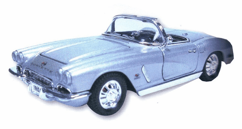 Die Cast 1962 Corvette