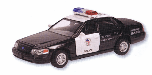 Die Cast Police Car