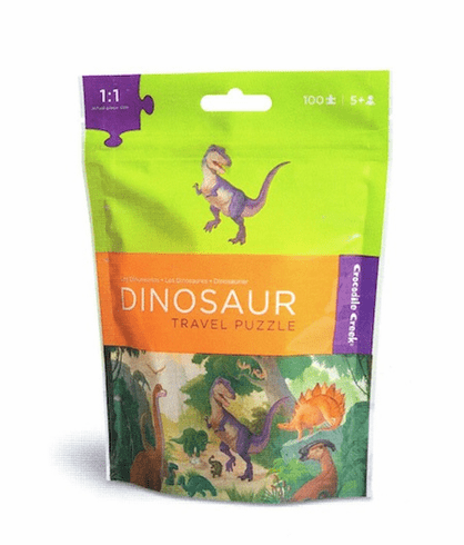 Dinosaur Travel Puzzle