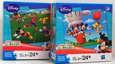 Disney Mickey Mouse Puzzle 24pc