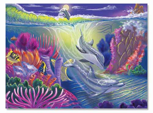 Dolphin Cove Jigsaw Puzzle 100pc