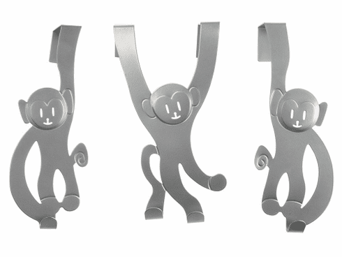 Doorhanger Monkey Set of 3