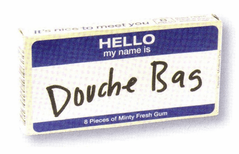 Douche Bag Gum