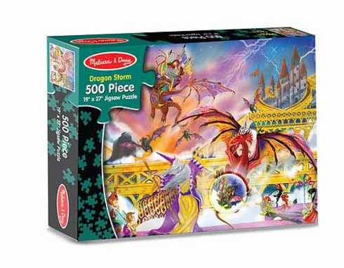 Dragon Storm Jigsaw Puzzle 500pc