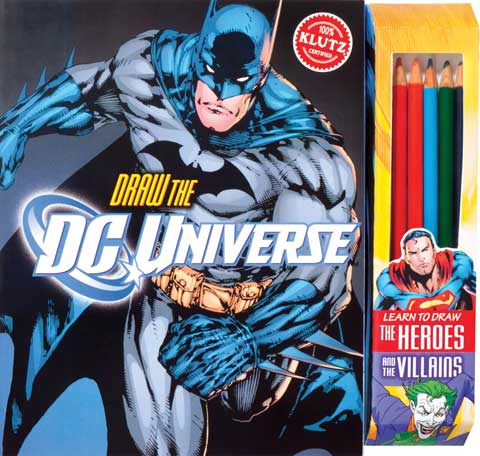 Draw the DC Universe Book