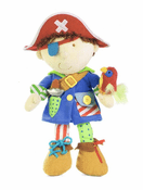 Dress Up Pirate Doll Plush