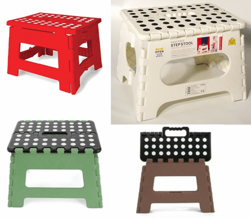 Easy Fold Step Stool - Short