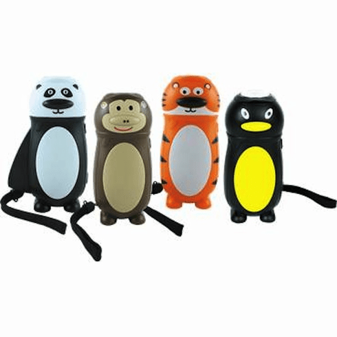 ECOTONIC Zoo Eco Squeeze Powered Flashlights