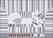 Edie Harper Cozy Cats Boxed Notecards