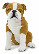 English Bulldog Plush