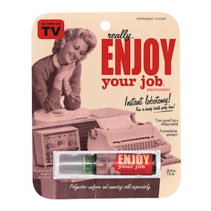 Enjoy Your Job Breathspray
