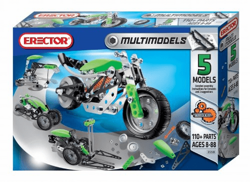 Erector Multi Model Construction Set