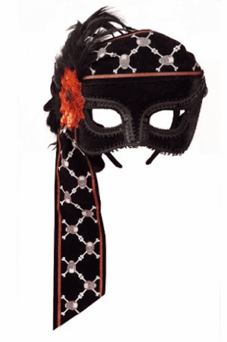 Feather Pirate Mask