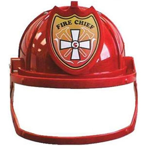 Fire Chief Helmet with Visor
