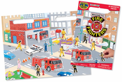 Fire Fighter Magnetic Play Set
