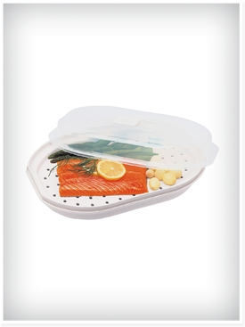 Fish and Vegetable Microwave Steamer