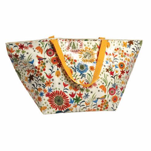 Flower Field Overnighter Tote