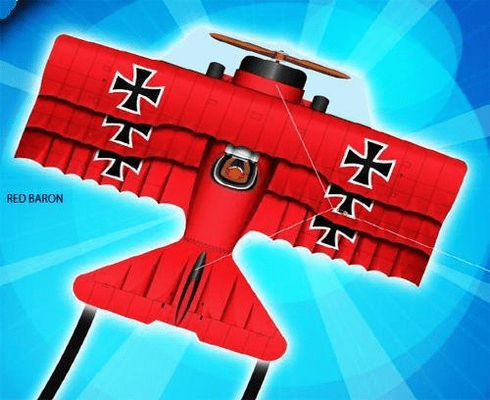 Flying Aces Red Baron Kite