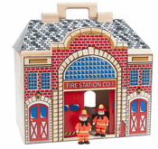 Fold and Go Fire Station