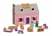Fold and Go Pink Doll House