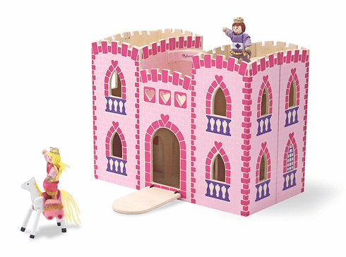 Fold and Go Wooden Princess Castle