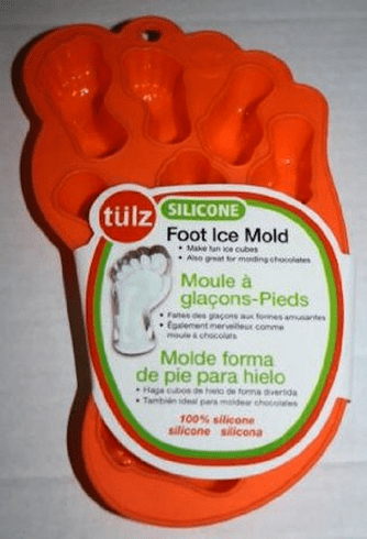 Foot Ice Cube Mold