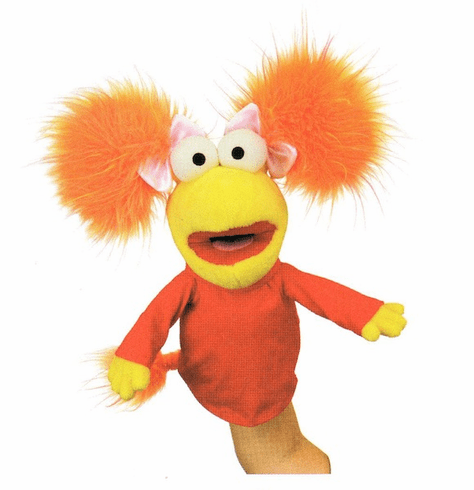 Fraggle Rock Red Hand Puppet
