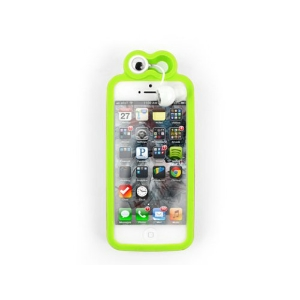 Frog iPhone 5 Cover and Earbuds