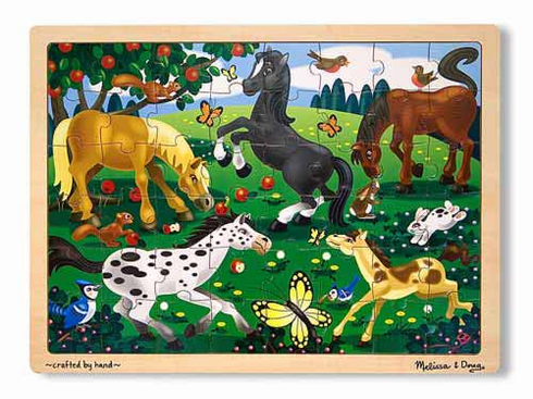 Frolicking Horse Jigsaw Puzzle