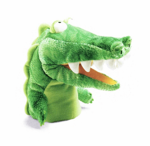 Gator Gary Alligaor Crocodile Hand Puppet