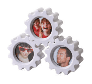 "Gear Photo Frame 2"" x 2"""
