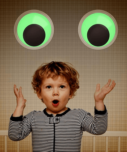 Giant Glow in the Dark Googly Eyes