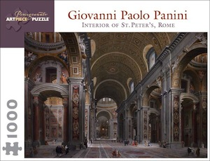 Giovanni Paolo Panini: Interior of St. Peters, Rome