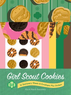 Girl Scout Cookies Mix & Match Stationery