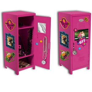 Girl Talk Locker w/ Magnet