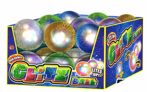 Glitz Glitter Bouncy Ball