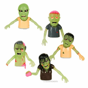 Glow Finger Zombie Puppets