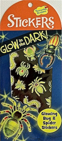Glow-in-the-Dark Bug and Spider Stickers
