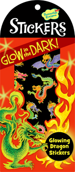 Glow-in-the-Dark Dragon Stickers