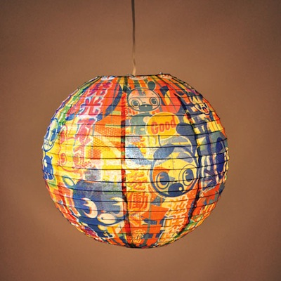 Good and Plenty Paper Lantern